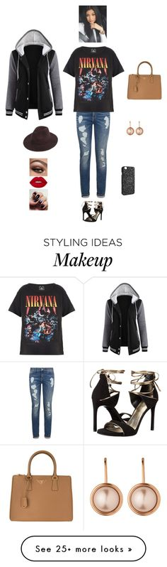 """""""S G I M"""" by queen-kaitlyn on Polyvore featuring Tommy Hilfiger, Trunk LTD, Stuart Weitzman, Prada, Dyrberg/Kern, Lime Crime and Victoria's Secret"""