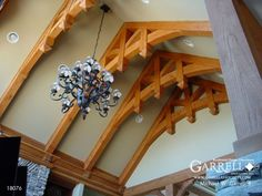 Living room truss detail Craftsman Style House Plans, Cottage House Plans, Cottage Homes, Porch Plans, Best Home Interior Design, 2nd Floor, Country Farmhouse, Art Deco, Floor Plans