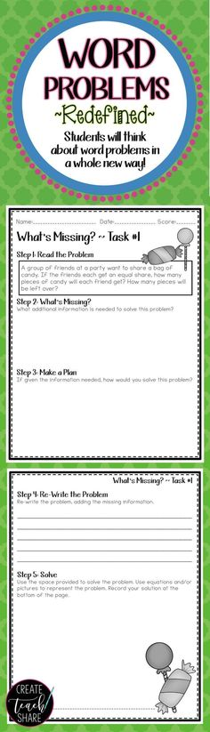 I was looking for strategies to increase student understanding of word problems. This resource has been great to give my students to the practice they need with real world math problems. Love these activities for my 4th and 5th grade students!!