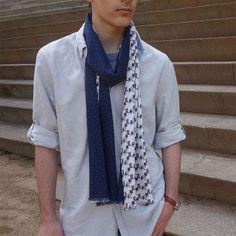 Bufanda hombre edición limitada, moda sostenible Look by LyLy Vest, Jackets, Fashion, Sustainable Fashion, Scarves, Elegant, Men, Down Jackets, Moda