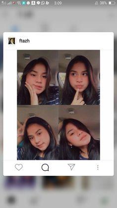 Cute Korean Girl, Indonesian Girls, Photo Poses, Ulzzang, Van, Tumblr, Selfie, Random, Pictures