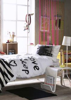 Une chambre d'ado arty