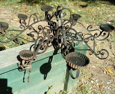 DECORATIVE IRON WORKS. in Home & Garden, Home Décor, Candle Holders & Accessories   eBay!