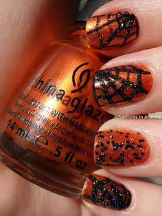 Halloween nail designs #halloweennails #nailart