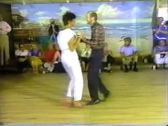 Carolina Shag Dancing - JoJo Putnam & Joanne Johnson - 1983...Saw them!!  AMAZING!!!