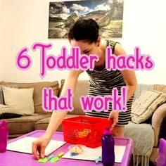 6 Toddler hacks that work! Dear Momma, Twin Toddlers, Twin Mom, Always Remember, Hacks, Age, Make It Yourself, Children, Young Children
