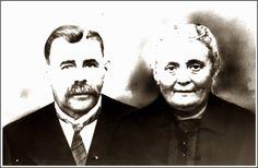 Nes ( van Merk) Jans en Haar man Merk Sourbron, de ouders van José van Jam.