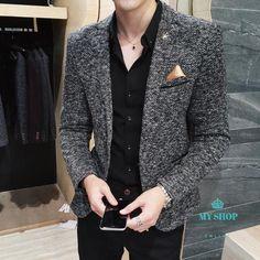 Casual Blazer Mens Accesorios is part of Blazer outfits men - Blazer Outfits Men, Mens Fashion Blazer, Mens Fashion Wear, Casual Blazer, Suit Fashion, Blazers For Men Casual, Men Blazer, Fashion Guide, Fashion Hair