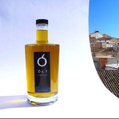 Diseño de botella y etiqueta de aceite deluxe para el mercado chino.