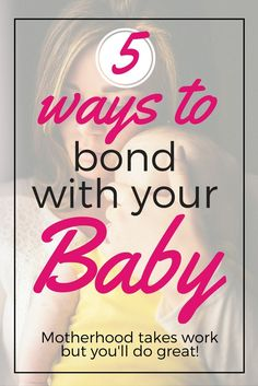 Bonding with your baby isn't always easy and you're not alone! Here are some great baby bonding tips for new moms that you can use to bond with your newborn and have an amazing mommy-baby relationship. Pregnant? Repin and save for later!