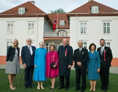 May 17 2014 - Royal from Norway, Sweden and Denmark gathered in Hobart to celebrate the Constitution, the Council and 200 years of peace in the region.