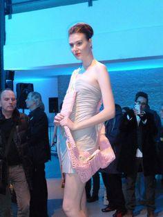 Laurence Verdier - suspended in pink