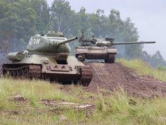 T-34-85 & T-72M