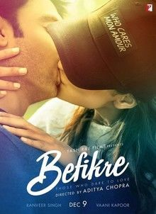Download Befikre 2016 Full Hindi Movie featuring Ranveer Singh and Vaani Kapoor.Befikre 2016 hindi movie full hd download with fast speed online for home.