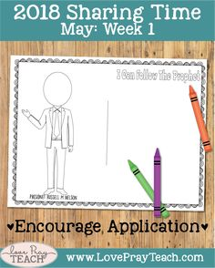Draw The Prophet Coloring Page Lesson Helps Ideas And Printables For May 2018