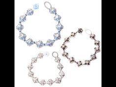 Kleshna Jewellery Making Kit Tutorial Roaring 20s Bracelet - YouTube