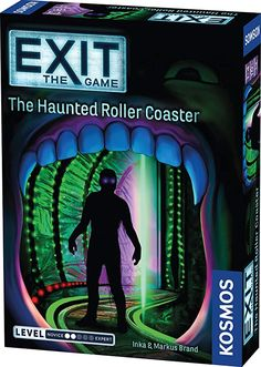 Amazon.com: Exit: The Haunted Roller Coaster | Exit: The Game - A Kosmos Game from Thames & Kosmos | Family-Friendly, Card-Based at-Home Escape Room Experience for 1 to 4 Players, Ages 10+: Toys & Games Board Game Online, Riddles To Solve, Cooperative Games, Games To Buy, Escape Room, Infant Activities, Amusement Park, Pop Vinyl, Games