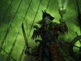 horror pirate skull warrior wallpaper