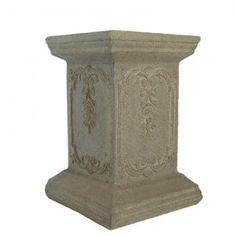 CANTERBURY PEDESTAL. Dimensions: 65cm. Urns & Pedestal Hire. Hire details: http://www.youreventsolution.com.au/YESStore/products_detail.php?ProductID=114 #WeddingHire #YourEventSolution