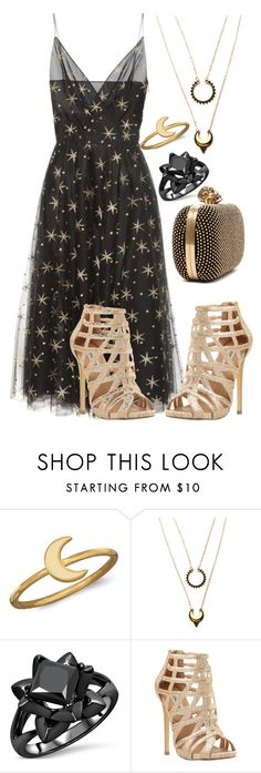 """""""new years party universe"""" by pinkice ❤ liked on Polyvore featuring BillyTheTree, Steve Madden and Alexander McQueen"""