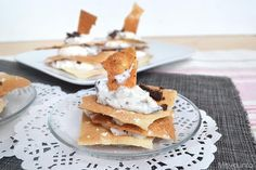 Millefoglie dolce di pane carasau