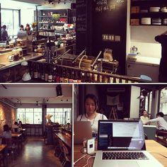 Coffee essential. Home of #Taipei's best croque madame. #digitalnomad #travel #remotework
