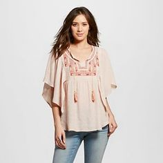 812ebfd740240 Women s Embroidered Top - Knox Rose Knox Rose Clothing