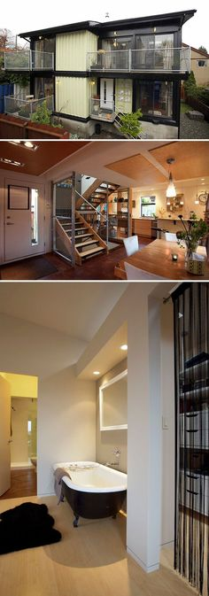 10 Gorgeous Shipping Container Homes - 1,920 square foot Zigloo shipping container home built in Canada and designed byKeith Dewey