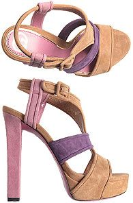 gucci nude and lilac-perfect!... #DesignerShoes... #LadiesStylish
