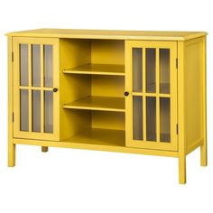 Threshold™ Windham 2 Door Cabinet with Center Shelves - Yellow