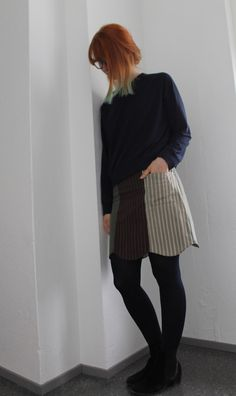 MMMay day thirteen, sewn skirt Skater Skirt, Sewing, Day, Skirts, Fashion, Moda, Dressmaking, Couture, Skirt