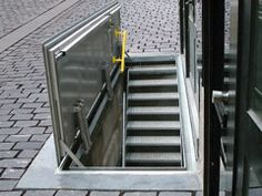 Gorter® floor doors provide safe and easy access to underground spaces, cellars, technical service  and parkings areas. Floor doors are often applied in emergency routes.