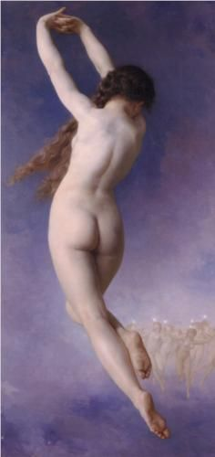 The Lost Pleiad, 1884 - William-Adolphe Bouguereau (French, 1825-1905) Neoclassicism