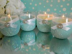 Tiffany Blue Hearts Party Theme Pinterest