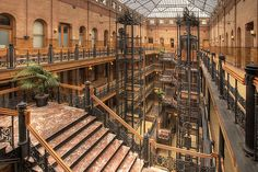 Bradbury Building, Los Angeles - Things to do in LA  #losangeles #architecture #travel