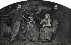 Photo by LEWIS CARROLL Dante Gabriel Rossetti, his sister the poet Christina Rossetti, his mother Mrs.Rossetti and his brother, art critic William Michael Rossetti by Charles Lutwidge Dodgeson, 1863 John William Waterhouse, Lewis Carroll, John Everett Millais, Julia Margaret Cameron, Christina Rossetti, Pre Raphaelite Brotherhood, Edward Burne Jones, Dante Gabriel Rossetti, Vintage Photographs