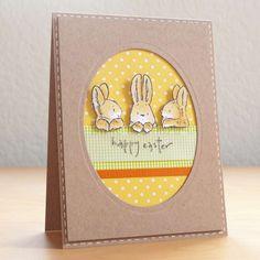 Biglietti di Pasqua fai da te - Cartolina di buona Pasqua