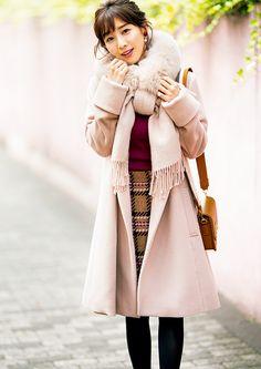 Tips For Understanding Women's Fashion Without You Hesitating! – Designer Fashion Tips Fall Winter Outfits, Autumn Winter Fashion, Understanding Women, Female Poses, Office Fashion, Japanese Fashion, Cute Girls, Fur Coat, Womens Fashion