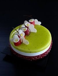 Torte & Entremets - Pasticceria Internazionale Extra - Results from Cake Cookies, Cupcakes, Gourmet Recipes, Sweet Recipes, Easy Desserts, Delicious Desserts, Gelato Cake, Geometric Cake, Single Layer Cakes