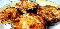 Μελιτζάνες και ψημένες στον φούρνο πατάτες, σε λαδόκολλα, σαν πιτσάκια… Baked Potato, French Toast, Potatoes, Baking, Breakfast, Ethnic Recipes, Food, Cakes, Morning Coffee