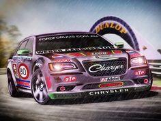 Chrysler 300C - photoshop chop