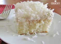 Ingredients 1 oz box white cake mix ingredients needed to make cake: egg whites, oil and water) 1 15 oz can cream of coconut 1 8 oz container COOL WHIP thawed 1 8 oz package sweetened flaked coconut Get Ingredients Powered by Chicory Instructions Prepare and bake white cake mix according to package directions for a 9 x 13 pan. Remove cake from oven, and while still hot, poke holes all over the top of cake using a large fork. Open can of Cream of Coconut (making sure to stir it first) and…