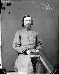 General George Pickett, infamous for the disastrous charge made in the Battle of Gettysburg.