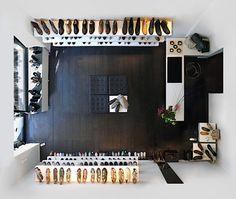 German photographer Menno Aden's series 'Room Portraits', from My Modern Met.