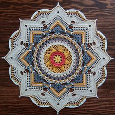 Best 12 Crochet Mandala + Diagram + Free Pattern Step By Step – SkillOfKing.Com - Her Crochet Crochet Mandala Pattern, Crochet Square Patterns, Crochet Blocks, Crochet Chart, Crochet Squares, Crochet Designs, Crochet Doilies, Granny Squares, Knitting Projects