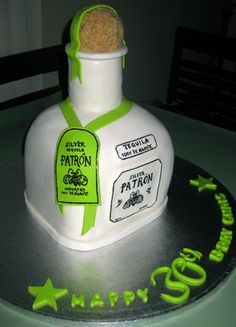 Patron Cake Can You Believe This Is A Cake Wedding - Patron birthday cake