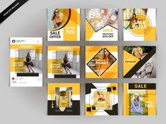 Fashion social media post template Premium Vector Social Media Branding, Social Media Design, Social Media Marketing, Page Layout Design, Ad Design, Presentation Layout, Instagram Design, Photoshop, Social Media Template