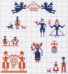 Gallery.ru / Фото #73 - Motif scandinaves traditionnel - Mongia