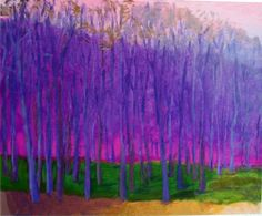 Wolf Kahn Original Paintings | Wolf Kahn