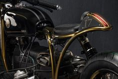 """Os Motociclistas Made in Brasil: Great project BMW R80 CafeRacer """"DAGA"""" by Matteucc..."""